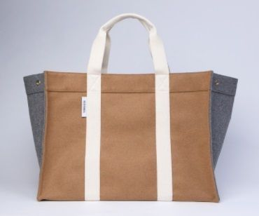 RUE DE VERNEUIL マザーズバッグ 優木まおみさん愛用brand【Rue de Verneuil】Wool Large Tote(4)