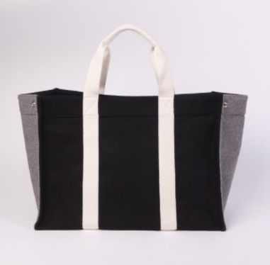 RUE DE VERNEUIL マザーズバッグ 優木まおみさん愛用brand【Rue de Verneuil】Wool Large Tote(7)