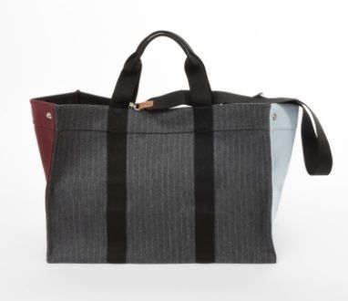 RUE DE VERNEUIL マザーズバッグ 優木まおみさん愛用brand【Rue de Verneuil】Wool Large Tote(8)