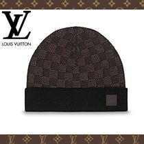 2017-18AW【LOUIS VUITTON】ボネ・プティ ダミエ エベヌ