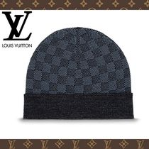 2017-18AW【LOUIS VUITTON】ボネ・プティ ダミエ コバルト