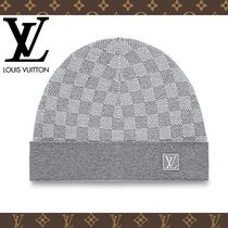 2017-18AW【LOUIS VUITTON】ボネ・プティ ダミエ グレー