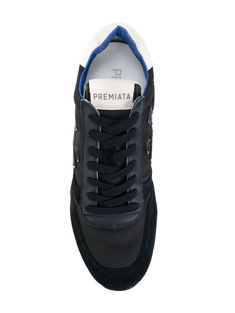 Premiata baskets a empiecements contrastants スニーカー