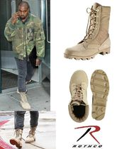 カニエ・BIGBANG愛用!! ROTHCO Jungle Boots Desert Tan 追跡便
