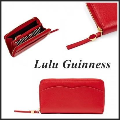 ☆2017/18秋冬新作☆【Lulu Guinness】CUPID'S BOW♪財布