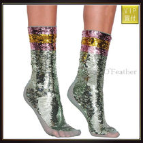 【グッチ】All-Over Sequins Embroidered Socks レッグウェア