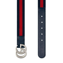 セレブ人気GUCCI Children's elastic Web belt