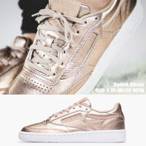 REEBOK★CLUB C 85 MELTED METAL★メタリック★25.5~28cm★PEACH