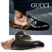 Gucci PRINCETOWN ファースリッパ 397647DKHH01063