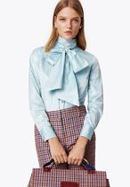 Tory Burch DAPHNE BOW BLOUSE