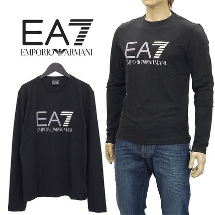 ★送関込★Emporio Armani EA7 Top Long Sleeve Slim Fit