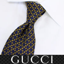 31 GUCCI グッチ 新品本物 総柄 SILK100% ネクタイ