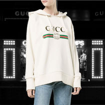 Gucci★Fake' Gucci embroidered hoodie フェイク刺繍パーカー