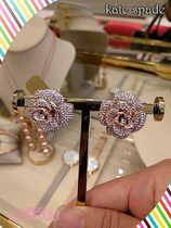 kate spade★midnight rose statement studs☆ローズピアス