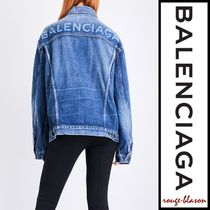 【国内発送】 ジャケット Like A Man oversized denim jacket