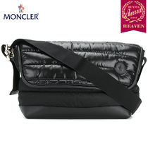 TOPセラー賞!17/18秋冬┃MONCLER★KINO MESSENGER BAG_ブラック