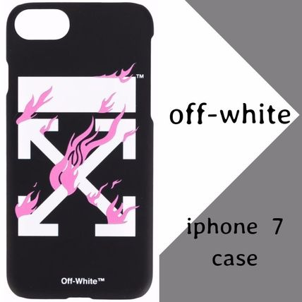 Off-White Arrow Fire iPhone 7 ケース