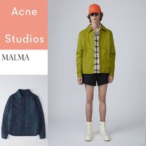 ACNE Malma water repellent 撥水加工ナイロンパッド入シャツ2色