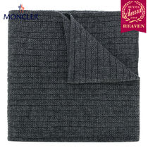TOPセラー賞受賞!17/18秋冬┃MONCLER★KNIT SCARF_グレー