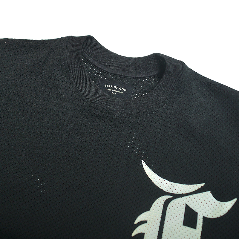 【国内在庫有・即発送】Fear of God 5th MESH BATTING JERSEY S