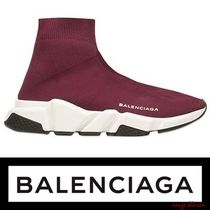 【先行予約】BALENCIAGA Speed Trainer ボルドー