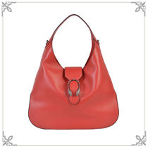 SALE【GUCCI】Dionysus レザー large ホーボーバッグ Red