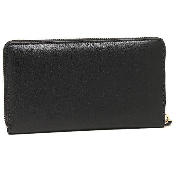 【即発】J&M Davidson 長財布 L ZIP WALLET 10011 7266 Black 黒