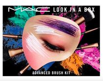 M.A.C*LOOK IN A BOX ポーチ付ブラシセット ADVANCED BRUSH KIT