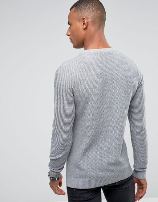 ★送料・関税込★Jack & Jones Premium Textured Knit セーター