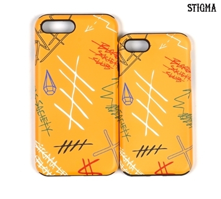 STIGMA iPhone ケース GRAFF YELLOW