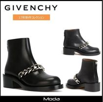 17AW新作★GIVENCHY★チェーンブーツ〈国内発送・関税無〉