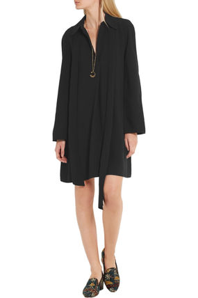 Chloe ワンピース 【Chloe】Crepe mini dress(2)