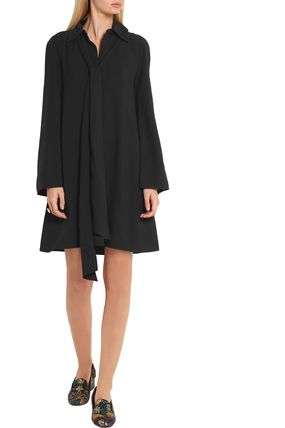 Chloe ワンピース 【Chloe】Crepe mini dress(4)