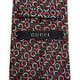 GUCCI ネクタイ 37 GUCCI グッチ 新品本物 総柄 SILK100% ネクタイ(7)
