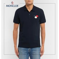 MONCLER◆ポロシャツAppliqued Cotton-PiquePolo Shirt