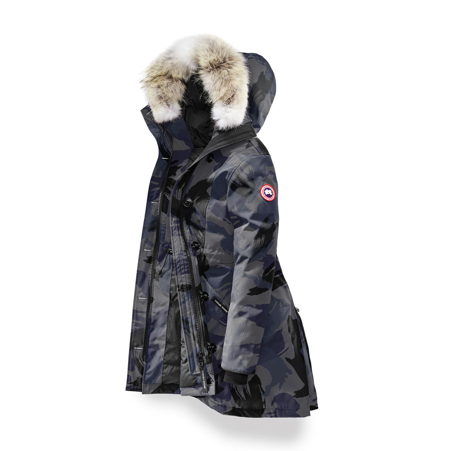 ★早期完売★【CANADA GOOSE】Rossclair Parka Blue Brush Camo