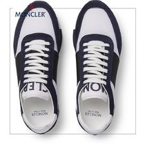 MONCLER◆スニーカーHorace Suede and Mesh Sneakers