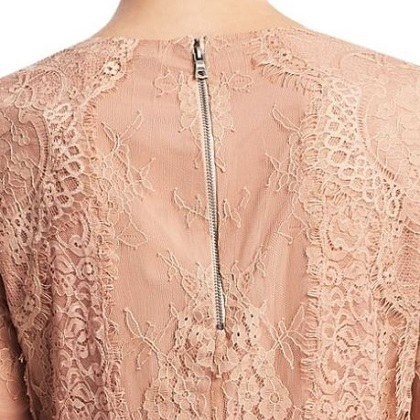 A/W!【Alice+Olivia】Hildie Laced Top送関込