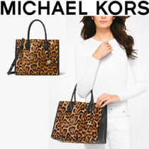 最新限定品★レオパード★MK★Mercer Leopard Calf Hair Tote★
