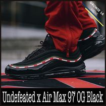 ★【NIKE】入手困難 コラボ Undefeated x Air Max 97 OG Black