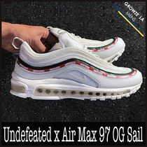 ★【NIKE】入手困難 コラボ Undefeated x Air Max 97 OG Sail