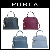 【即発3-5日着】FURLA★PIPER MEDIUM DOME SHOULDER★2ways