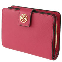 返品可能 TORY BURCH robinson french fold wallet【国内即発】