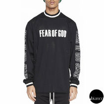 関税込FEAR OF GOD 2017AW MESH MOTOCROSS JERSEY ロゴプリント
