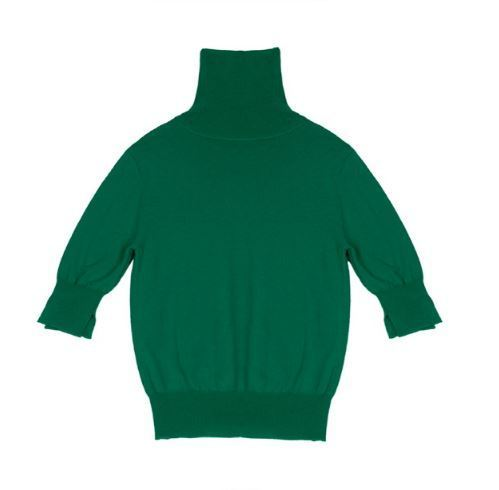 日本未入荷DEW E DEW EのSHORT SLEEVE WOOL TURTLENECK 全3色