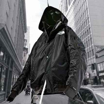 【Sacai 】Sacai x The North Face Men's Bomber Jacket Black