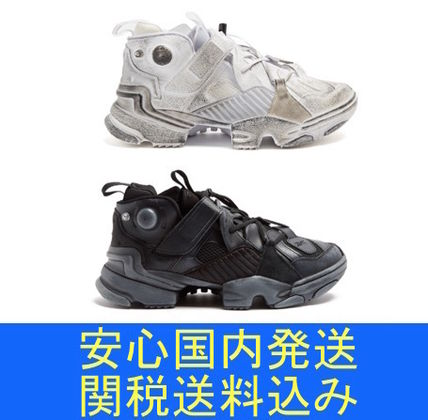 VETEMENTS REEBOK Genetically Modified leather trainers