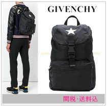 GIVENCHYジバンシィ スターパッチナイロンバックパック 関・送込