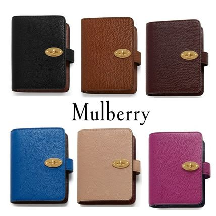 Mulberry 手帳 英国発☆Mulberry☆ Postman's Pocket Book ポケット手帳
