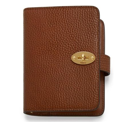 Mulberry 手帳 英国発☆Mulberry☆ Postman's Pocket Book ポケット手帳(4)